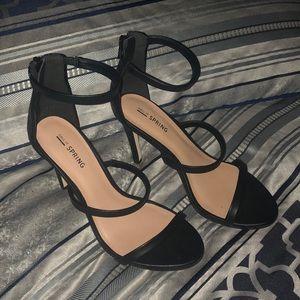 Call It Spring - Triple Strap Heel